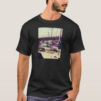 Sailboats In Dock T-Shirt
