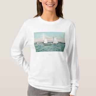 Sailboats off Alameda BeachAlameda, CA T-Shirt