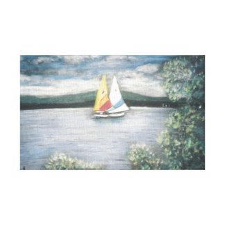 Sailboats on Canvas