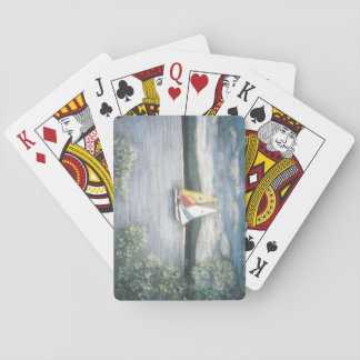 Sailboats on Playing Cards