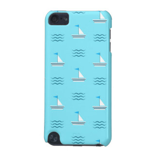 Sailboats On The Blue Sea Pattern iPod Touch 5G Covers