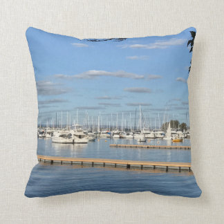 Sailboats on the River Cushion