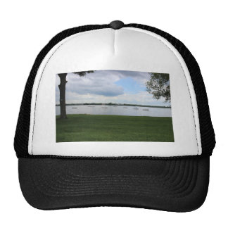 Sailboats on the Water Mesh Hats