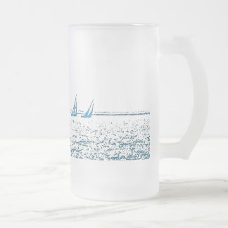 Sailboats Racing Mug