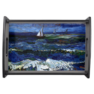 Sailboats Serving Tray