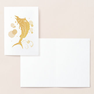 Sailfish Foil Card