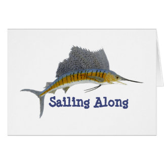 Sailfish- Sailing Along Card