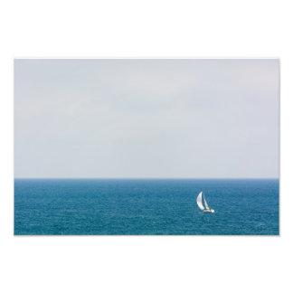 Sailing alone II Photo Print