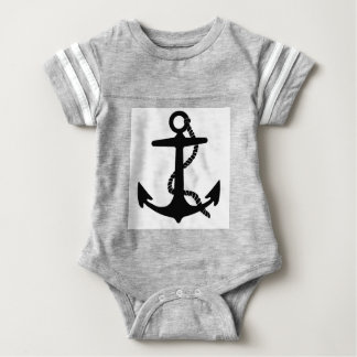 Sailing Anchor Sea Explorer Pirate Ship Baby Bodysuit