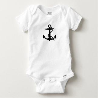 Sailing Anchor Sea Explorer Pirate Ship Baby Onesie