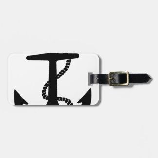 Sailing Anchor Sea Explorer Pirate Ship Luggage Tag