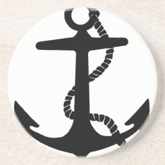 Sailing Anchor Sea Explorer Pirate Ship Sandstone Coaster