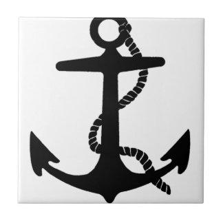 Sailing Anchor Sea Explorer Pirate Ship Small Square Tile