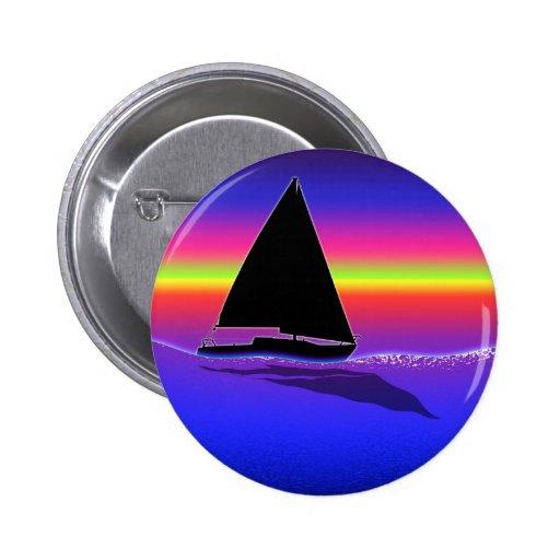 Sailing at Sunset Button