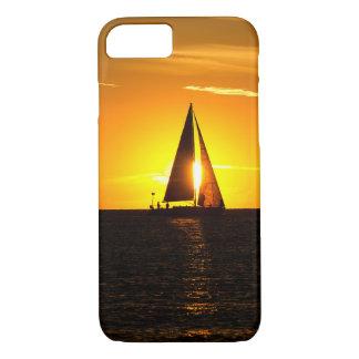 Sailing at Sunset iPhone 7 Case