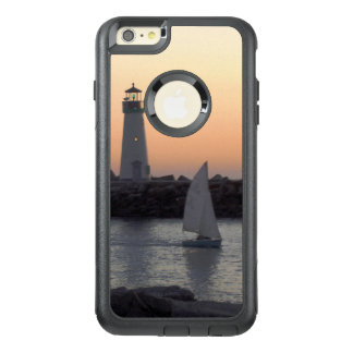 Sailing at Twilight at Santa Cruz Harbor OtterBox iPhone 6/6s Plus Case