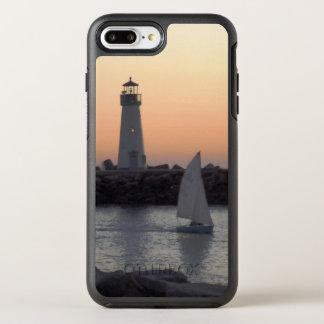 Sailing at Twilight at Santa Cruz Harbor OtterBox Symmetry iPhone 7 Plus Case