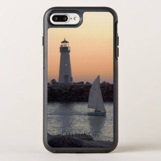 Sailing at Twilight at Santa Cruz Harbor OtterBox Symmetry iPhone 8 Plus/7 Plus Case