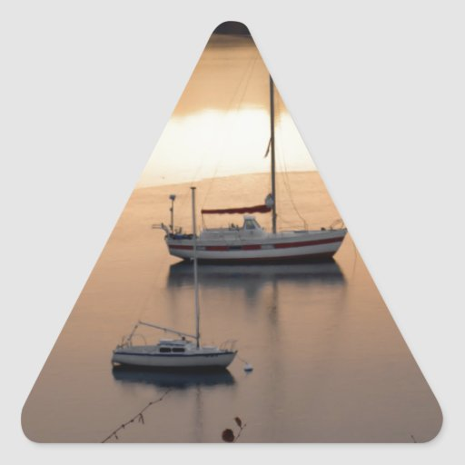 Sailing at Twilight Stickers