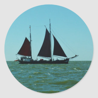 Sailing barge stickers
