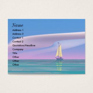 Sailing Blue - Chubby Business Card