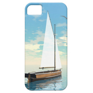Sailing boat - 3D render Barely There iPhone 5 Case