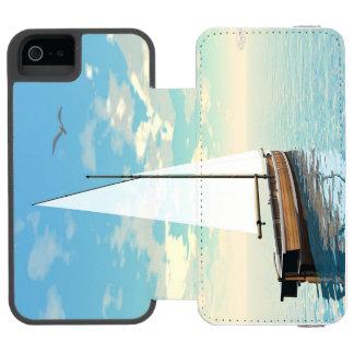 Sailing boat - 3D render Incipio Watson™ iPhone 5 Wallet Case