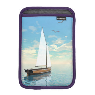 Sailing boat - 3D render iPad Mini Sleeves