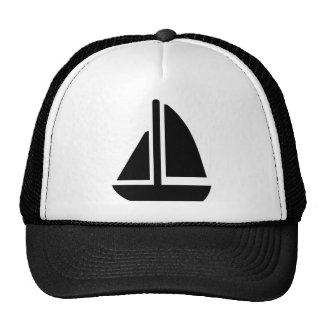 Sailing boat trucker hat