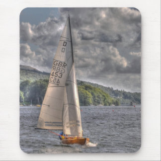 Sailing Boat Mouse Pad