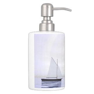 Sailing boats - 3D render Bathroom Sets