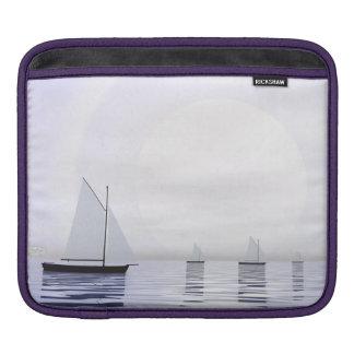 Sailing boats - 3D render iPad Sleeve