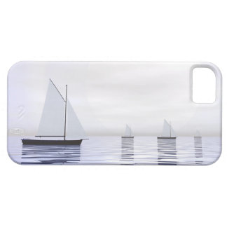 Sailing boats - 3D render iPhone 5 Covers