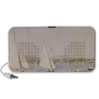 Sailing boats at Argenteuil, c.1888 Travel Speaker