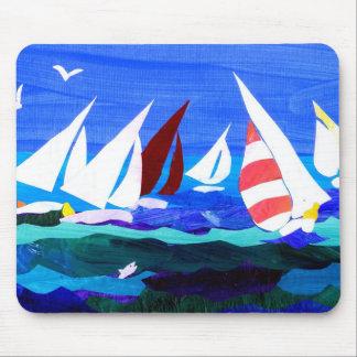 'Sailing Boats' mousepad