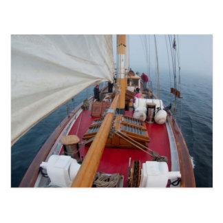 Sailing Boundary Pass Postcard