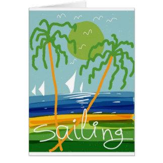 Sailing 🙊 card