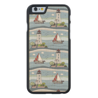 Sailing Carved® Maple iPhone 6 Case
