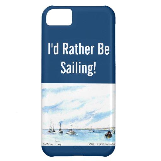 Sailing Case - Monterey California iPhone 5C Covers