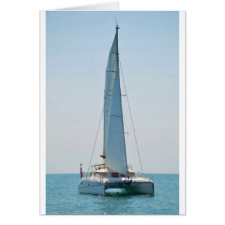 Sailing Catamaran Clara Card