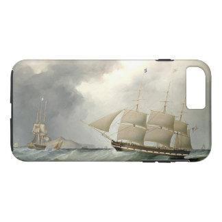 Sailing Clipper Ship Ocean Seas iPhone 7 Case