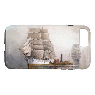 Sailing Clipper Ships Ocean Fog Seas iPhone 7 Case