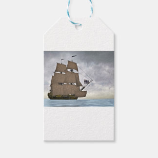 Sailing Corvette on a Gorgeous Day Gift Tags