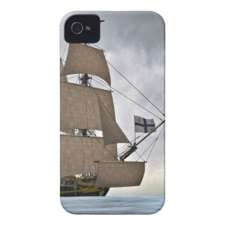 Sailing Corvette on a Gorgeous Day iPhone 4 Case-Mate Case