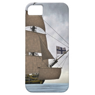 Sailing Corvette on a Gorgeous Day iPhone 5 Case