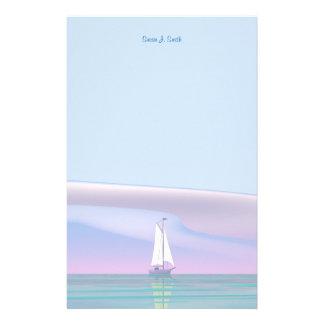 Sailing Day Customised Stationery