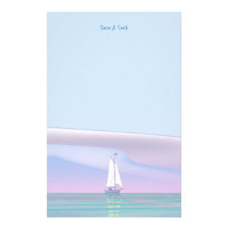 Sailing Day Customised Stationery