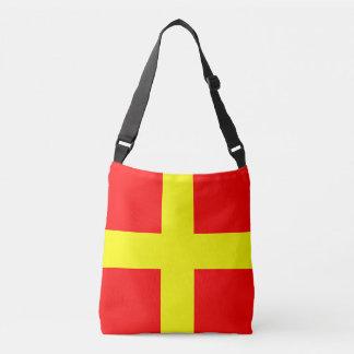 Sailing Flag Letter R Romeo Marine Pattern Tote Bag
