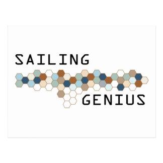Sailing Genius Postcard