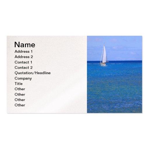 Sailing Hawaii Business Card
